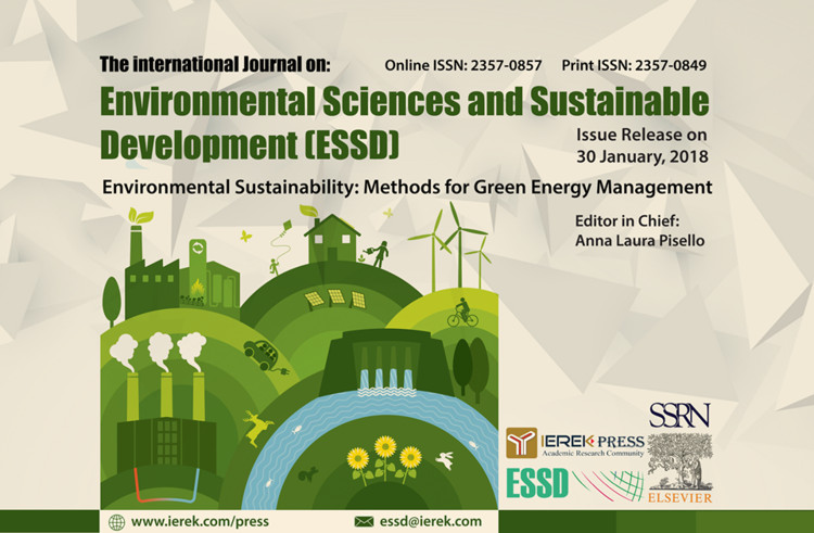 Call for Papers: The International Journal of Environmental Science & Sustainable Development (ESSD)