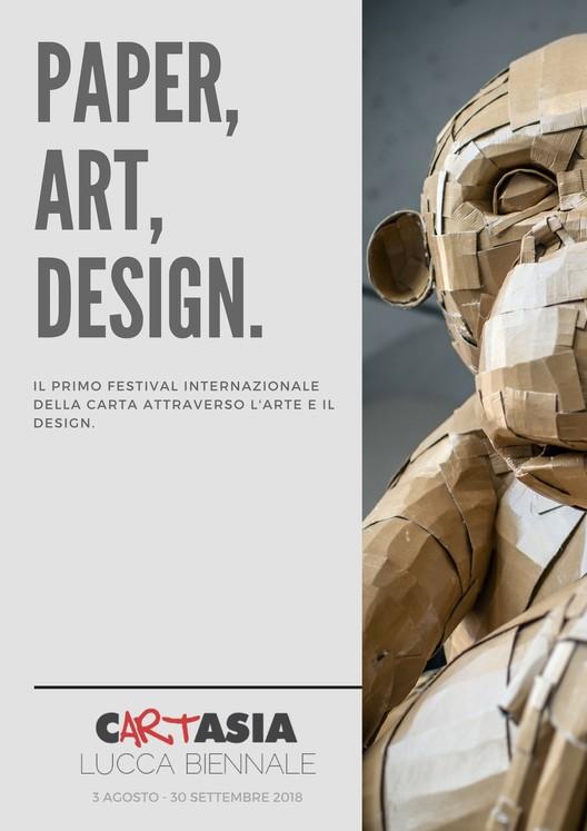 Open Call: Cartasia International Paper Biennale, Cartasia 2018 - Lucca Biennale