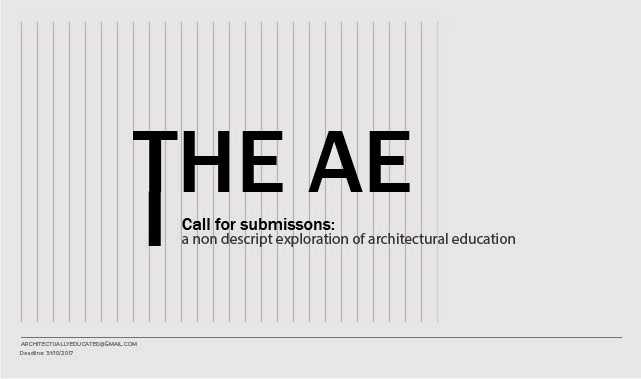 Open Call: Architecturally Educated