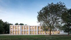 10 nuevas aulas - Marcinelle / LT2A + OPEN ARCHITECTES