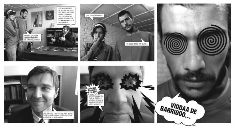 La Perse no está en venta: una fotonovela sobre gentrificación en Bogotá, Cortesía de Left Hand Rotation
