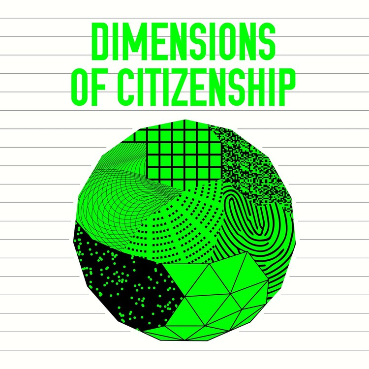 SAIC and The University of Chicago Are Appointed Co-Commissioners of the US Pavilion at the 2018 Venice Biennale, Dimensions of Citizenship graphic by Project Projects.