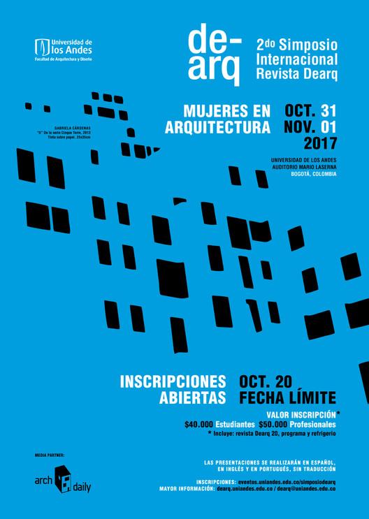 II Simposio Internacional de la Revista DeArq - Mujeres en la arquitectura, Taller de Medios Facultad Arquitectura y Diseño, Universidad de los Andes