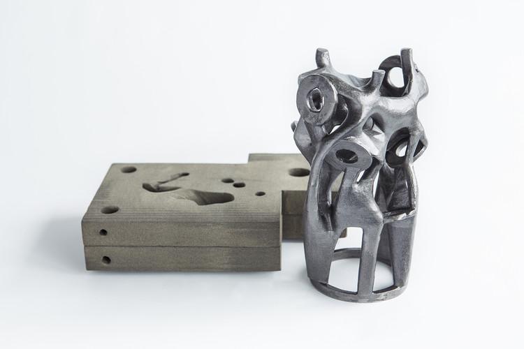 Arup desenvolve moldes impressos em 3D acessíveis para elementos estruturais complexos de aço, © Davidfotografie