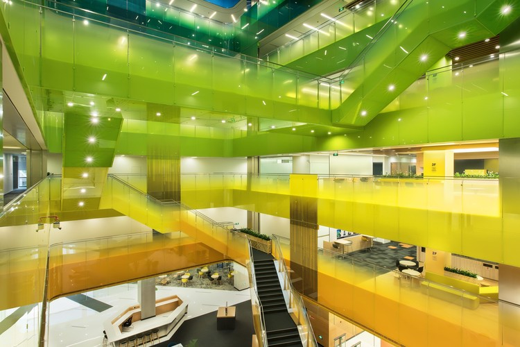 Microsoft Suzhou Technology Center / PDM International, Courtesy of PDM International