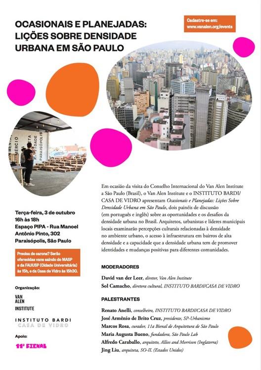 Ocasionais e Planejadas: Lições sobre densidade urbana em São Paulo