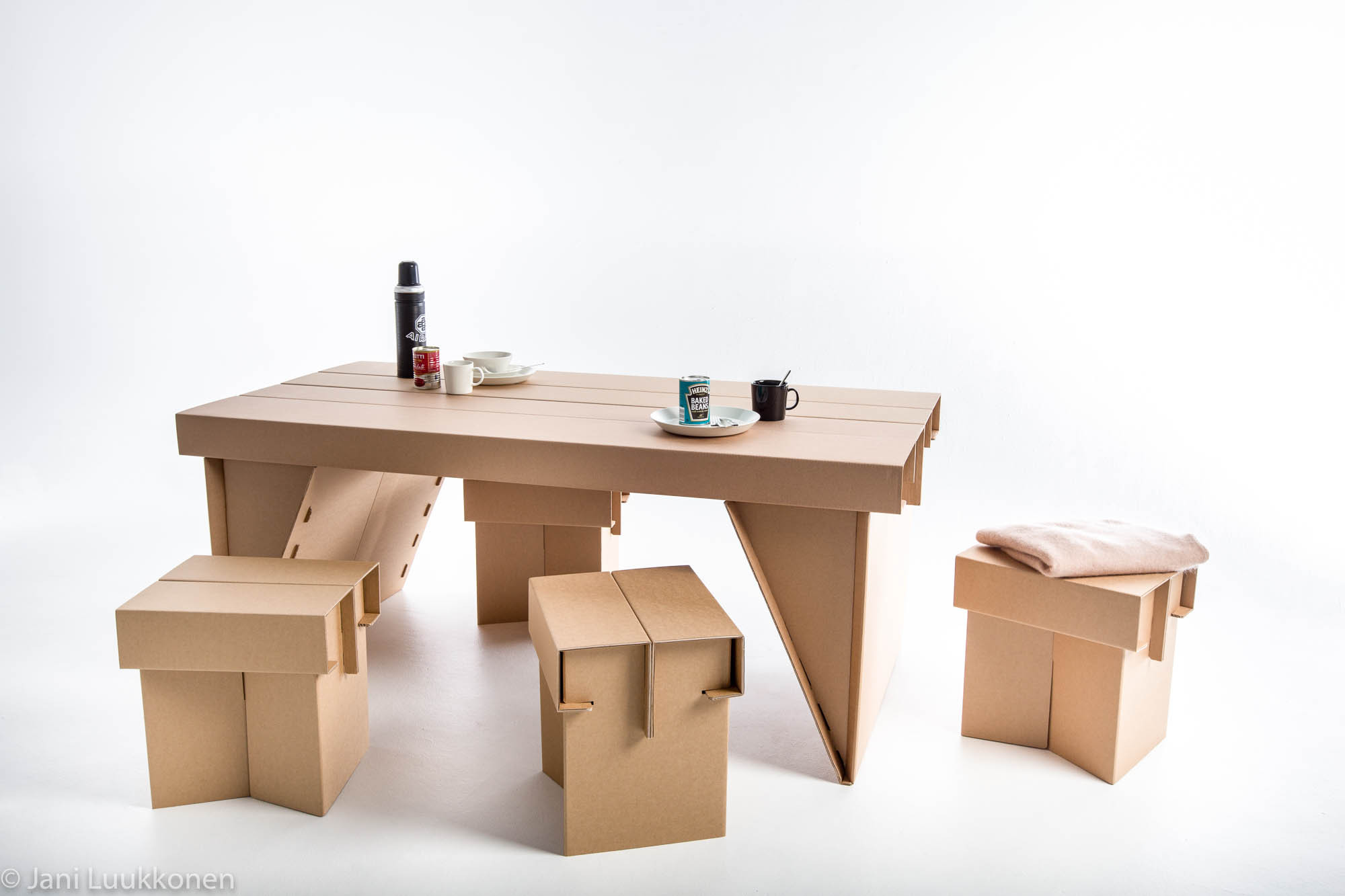 Gallery of students design temporary furniture for victims for Temporary furniture