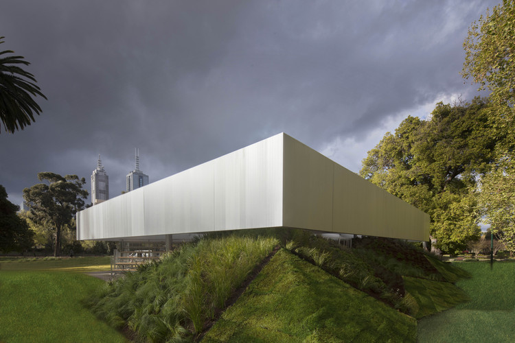 2017 MPavilion Designed by OMA's Rem Koolhaas & David Gianotten Opens in Melbourne, © John Gollings