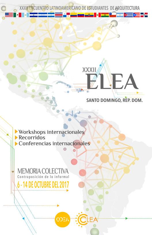Encuentro Latinoamericano de Estudiantes de Arquitectura  - ELEA Santo Domingo, República Dominicana 2017, ODEA - Organización Dominicana de Estudiantes de Arquitectura