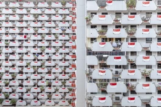 Selegie House, Singapore / Housing and Development Board. Image © Siyuan Ma