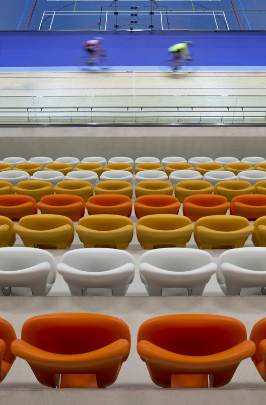 Derby Arena Velodrome, UK / Faulkner Brown Architects. Image © Martine Hamilton Knight
