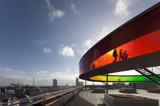 ARoS Aarhus Kunstmuseum, Denmark / Schmidt Hammer Lassen + Olafur Eliasson. Image © David Borland