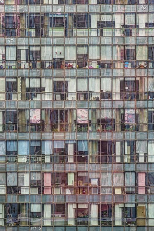 Office building, Beijing, China. Image © Tom Stahl