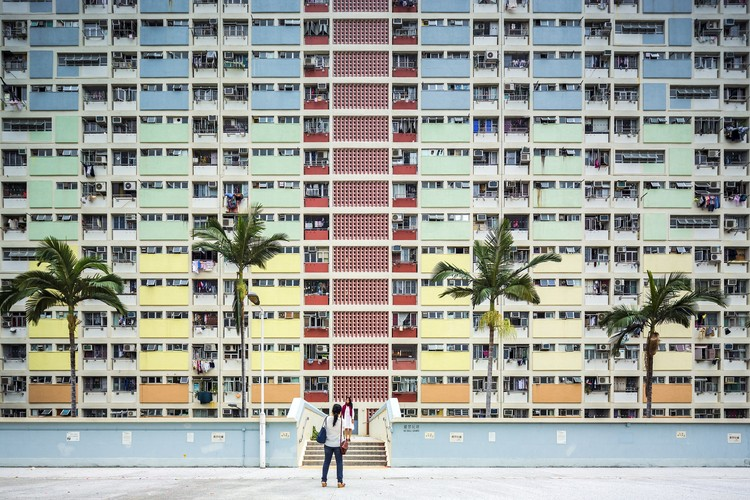Choi Hung Estate, Hong Kong. Image © Fabio Mantovani
