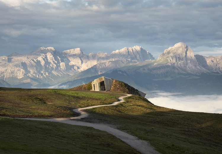 Messner Mountain Museum Corones, Bolzano, South Tyrol, Italy / Zaha Hadid Architects. Image © Tom Roe