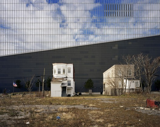 North wall of the Revel Casino, Atlantic City, New Jersey, USA. Image © Brian Rose