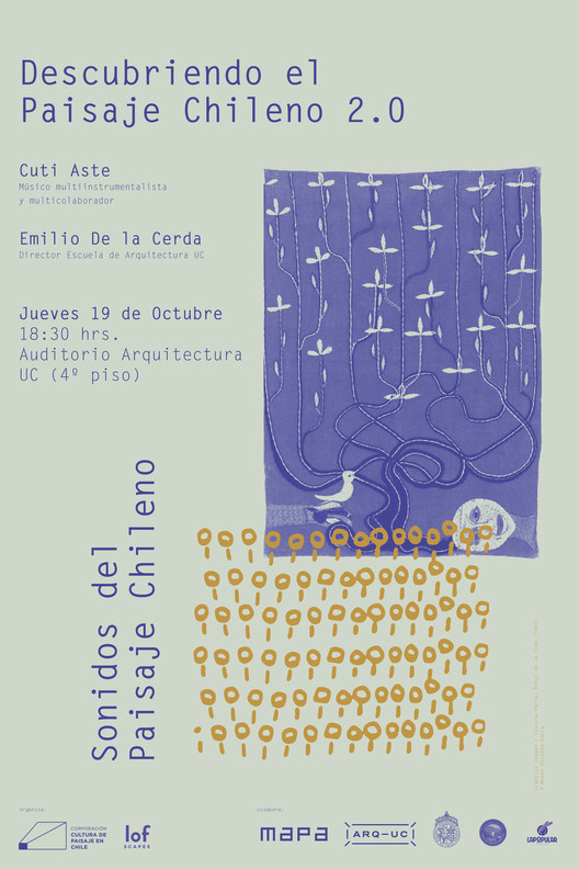 Diálogo 3: Sonidos del paisaje chileno, Corporación Cultura de Paisaje en Chile