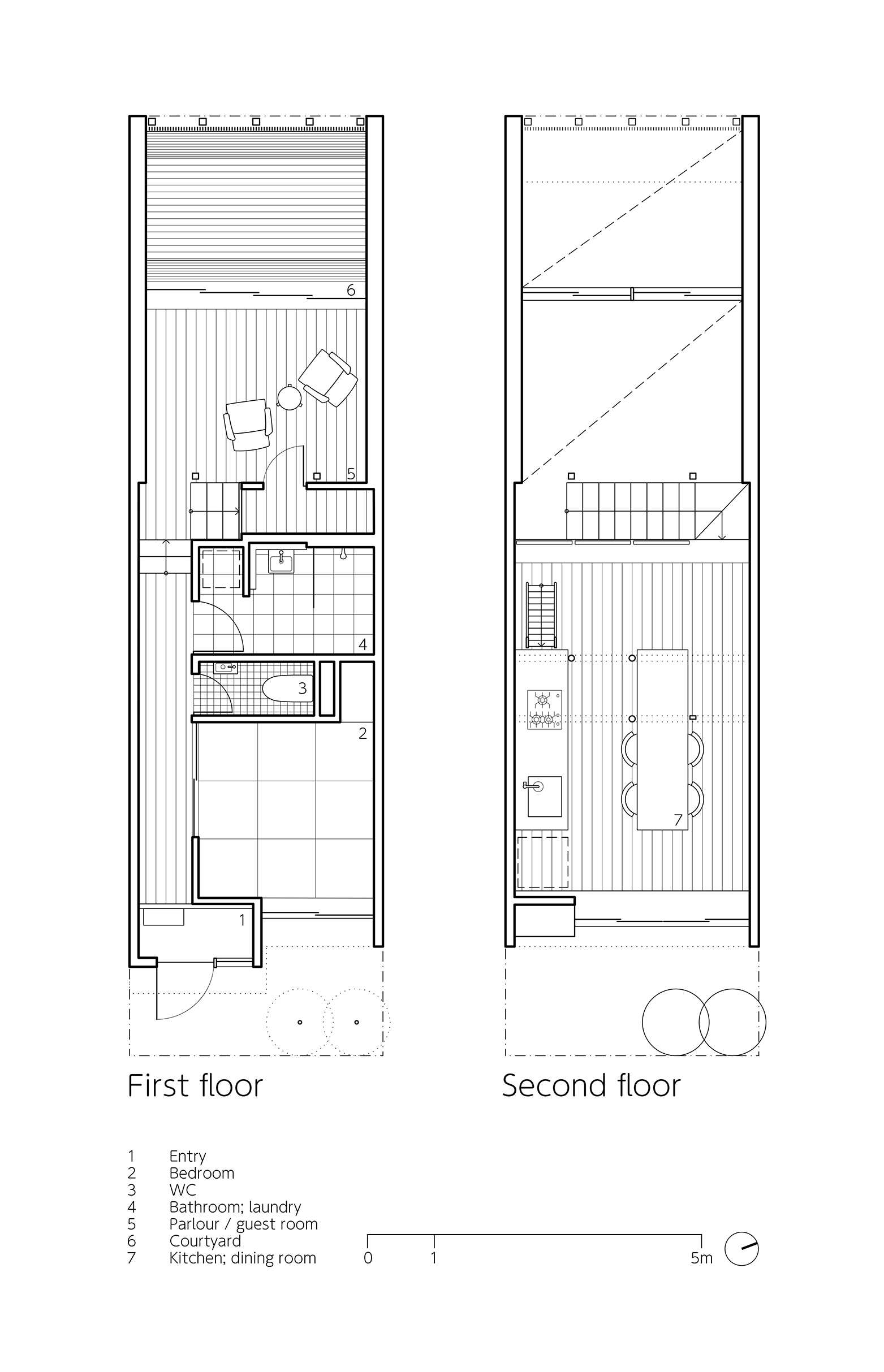 Project in addition 52afc057e8e44e1c91000054 Flower House Ezzo Floor Plans in addition Casa Moderna De 3 Dormitorios Plano Planta Alta moreover 59d36a90b22e38e53e0001b3 Ichijoji House Atelier Luke Floor Plans together with Elevation Sketch. on about the house plans