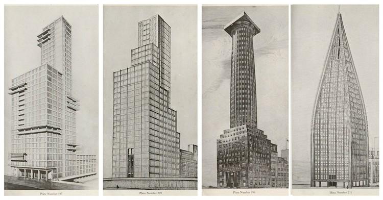Image result for tribune tower alternate designs