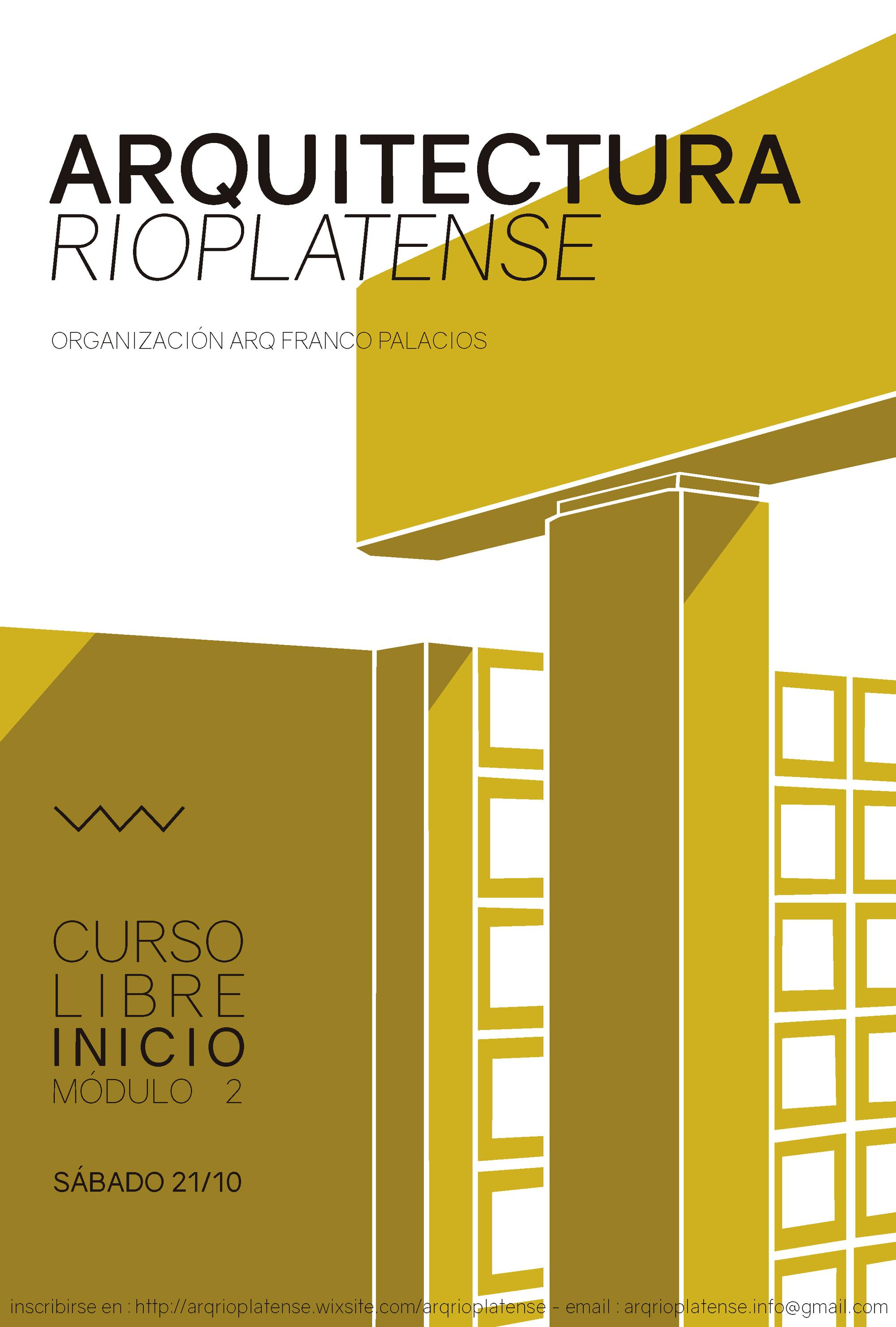Curso 39 arquitectura rioplatense 39 m dulo 2 la plata for Aulas web arquitectura