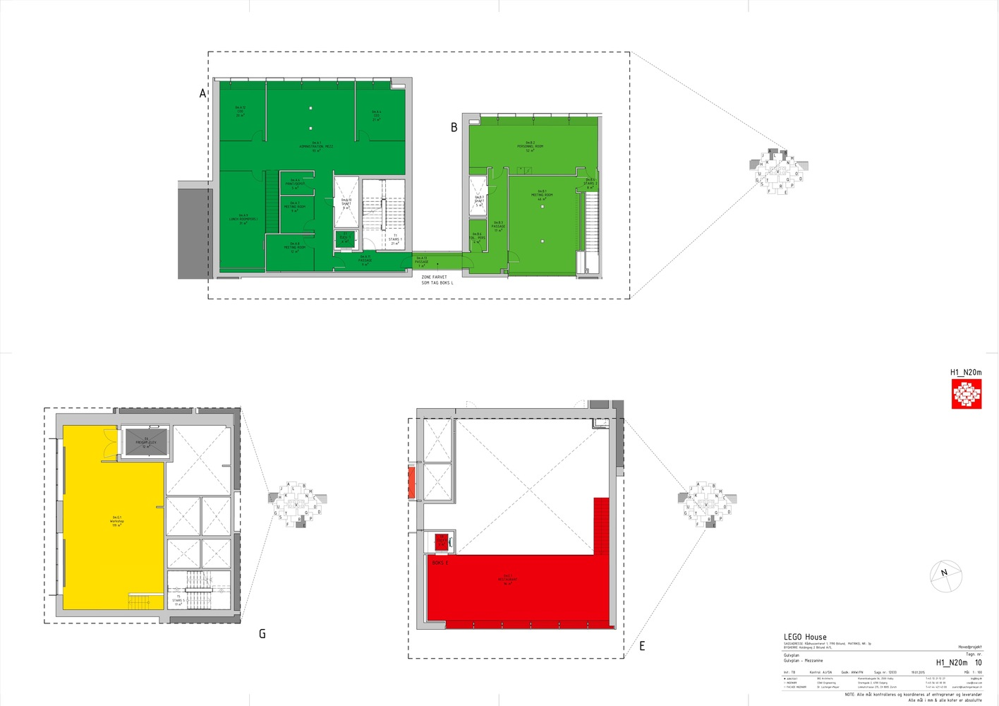 LEGO House,Mezzanine Floor Plan