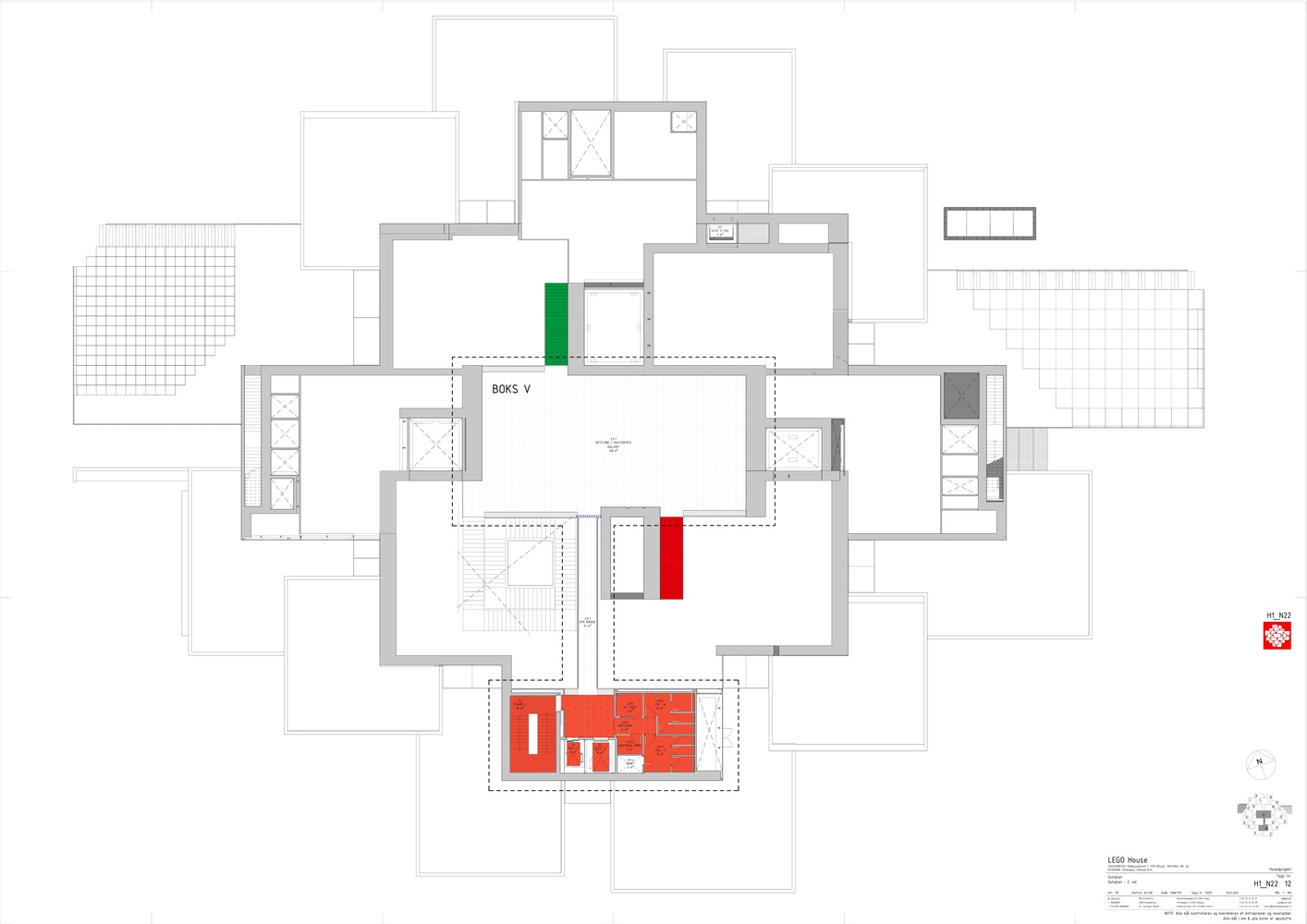 LEGO House,Second Floor Plan