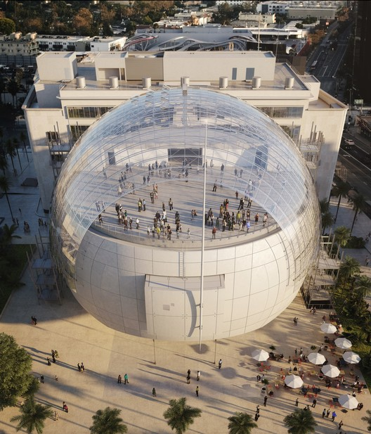 © Renzo Piano Building Workshop/©A.M.P.A.S. Images from L'Autre Image