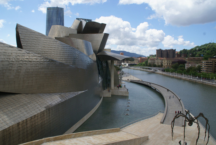 Drawing Event Will Celebrate the 20th Anniversary of the Guggenheim Museum Bilbao, Courtesy of Flickr user: dbaron