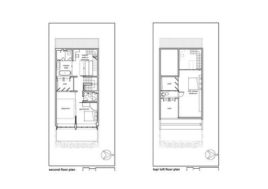 Second and Loft Floor Plan