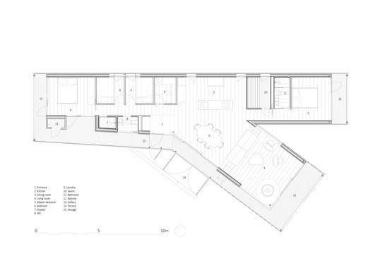 Main Cabin Floor Plan