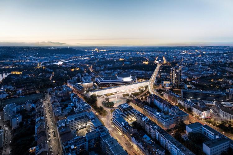 OCA Barcelona se adjudica primer lugar en concurso de la ampliación del Centro de Congresos de Praga, Cortesía de OCA Barcelona