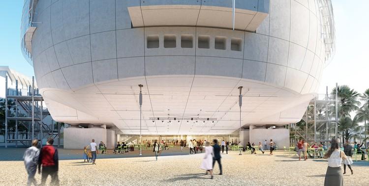Renzo Piano revela renders del museo de la Academia de Artes y Ciencias Cinematográficas en Los Angeles, © Renzo Piano Building Workshop/©A.M.P.A.S.