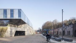 Topsportschool Antuérpia / Compagnie O Architects