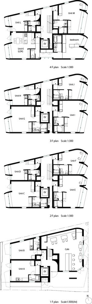 Gallery of FUKOSHA Apartment Building / SUEP - 13
