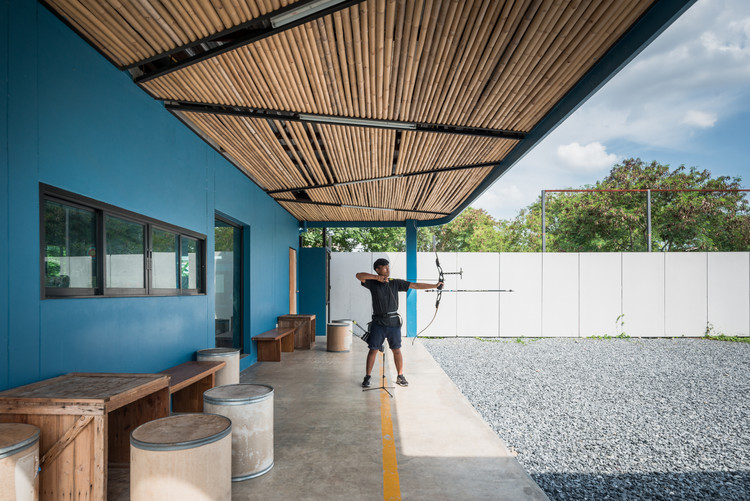 Club de tiro al arco Jaransanitwong  / Archimontage Design Fields Sophisticated, © Beersingnoi