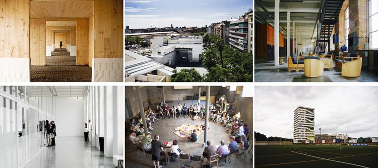 Bienal Internacional de Arquitectura de Buenos Aires 2017: conoce la participación de Barcelona como ciudad invitada de honor, Superior: La Borda, Fort Pienc, Fabra i Coats Inferior: Fabra i Coats, La Borda, Torre Júlia . Image vía Bienal Internacional de Arquitectura de Buenos Aires