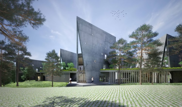 VTN Architects projeta novo campus da maior empresa de telecomunicações do Vietnã, Cortesia de VTN Architects