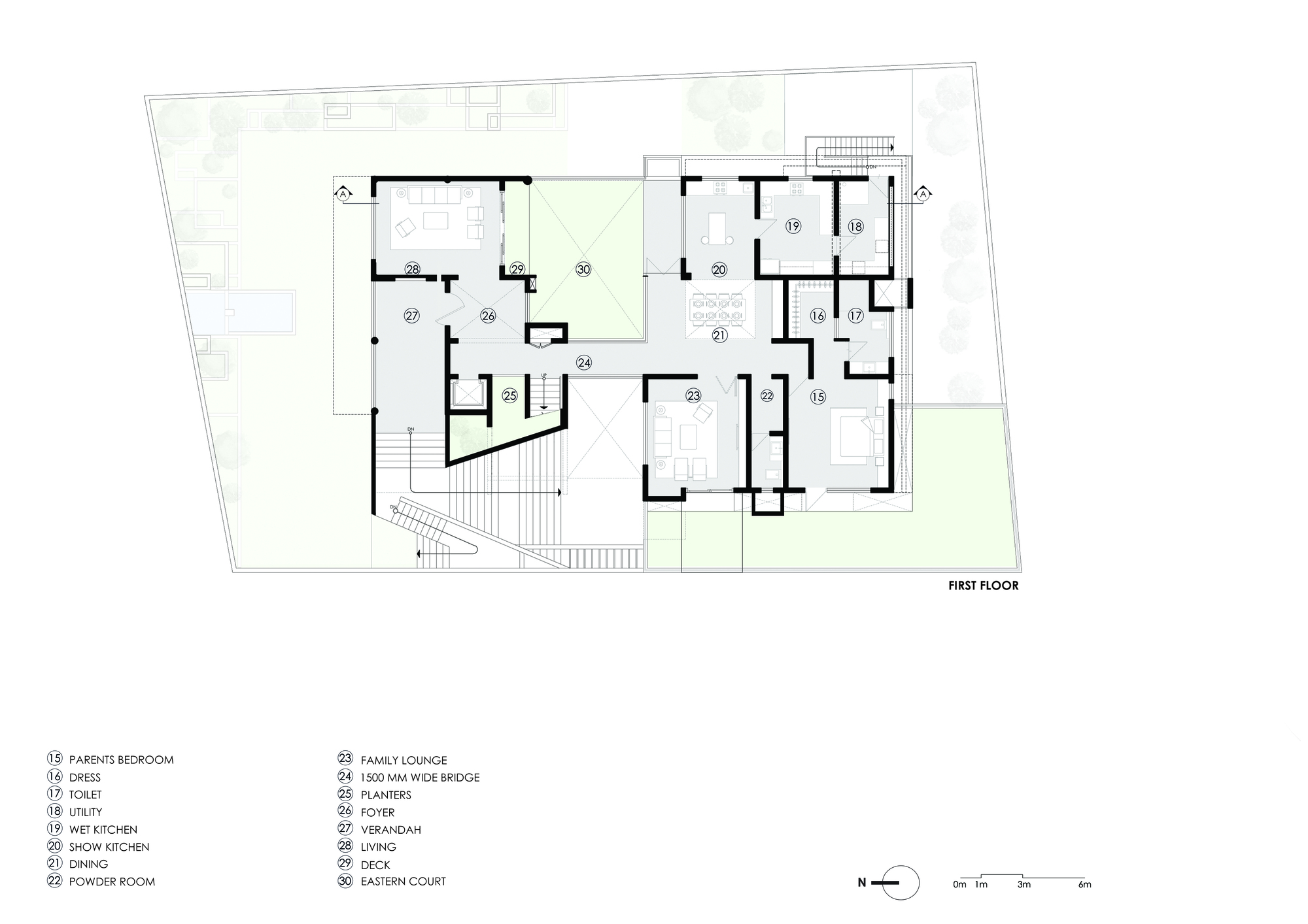 big floor plans gallery of hks house sdeg 14 10723