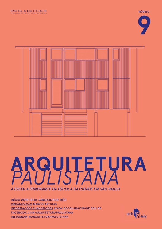 """Inscrições abertas para o curso livre """"Arquitetura Paulistana"""""""