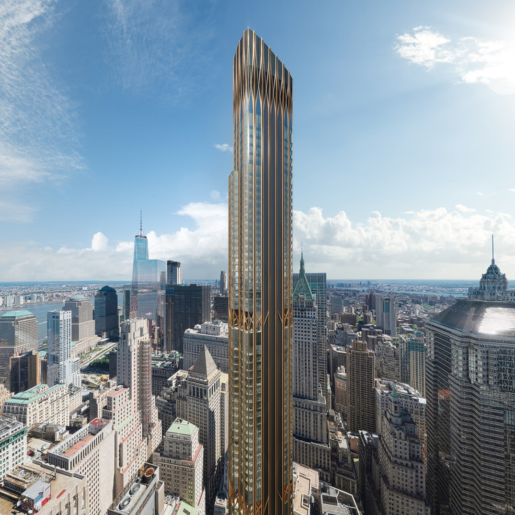 Art Deco Inspired 45 Broad Street by CetraRuddy to Become Tallest Residential Tower in Lower Manhattan, © CetraRuddy
