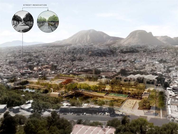 Este complejo para retención y tratamiento de agua en Ciudad de México ganó primer lugar de Premios LafargeHolcim , vía LafargeHolcim