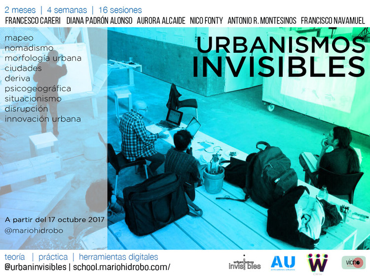 Curso digital 'Urbanismos Invisibles'