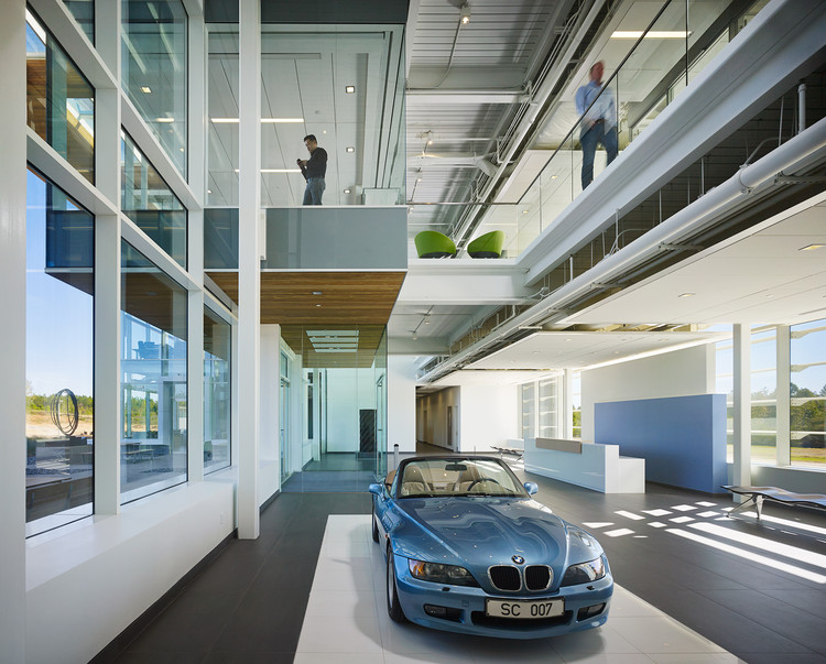The Site Operations Center at BMW / Perkins+Will, © Nick Merrick