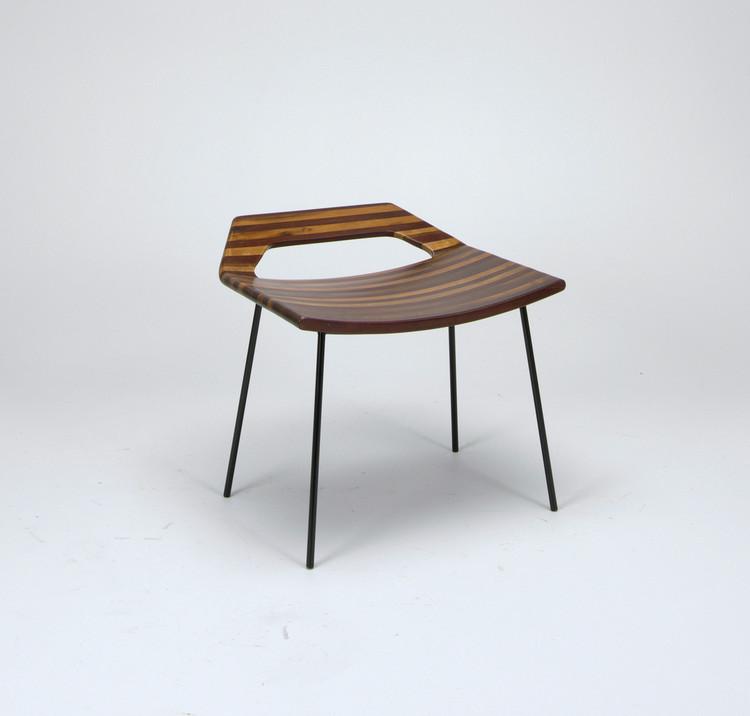 Banquinho (Brazil), ca. 1955-60; Designed by Joaquim Tenreiro. Gift for Evan Snyderman and Zesty Meyers. Image © Cooper Hewitt - Smithsonian Design Museum