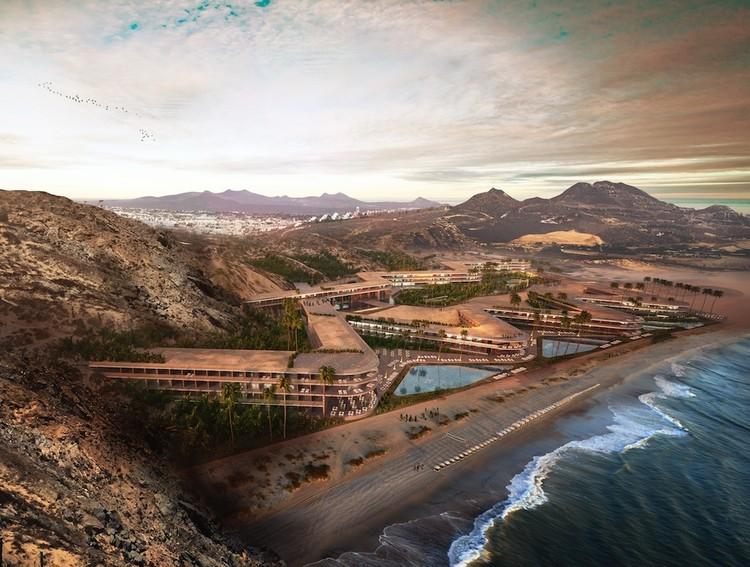 Forbes nombra a cuatro 'arquitectos mexicanos que destacan en el mundo', Propuesta de Sordo Madaleno Arquitectos para el futuro hotel St. Regis en Los Cabos, México. Image Cortesía de SMA