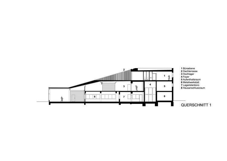dachland 39 s hq in mainz syra schoyerer architekten. Black Bedroom Furniture Sets. Home Design Ideas
