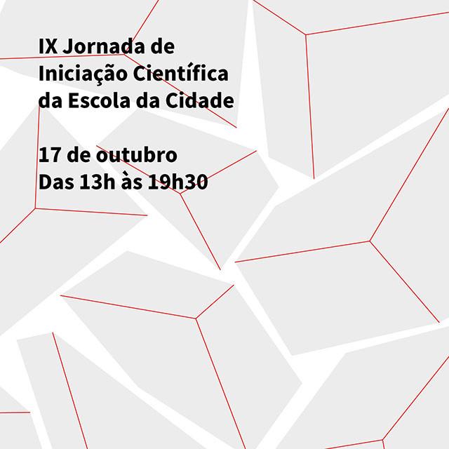 Escola da Cidade promove IX Jornada de Iniciação Científica, Mais informações no site www.escoladacidade.edu.br.