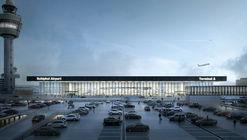 Estudio Lamela y KAAN Architecten diseñarán nuevo terminal del aeropuerto de Ámsterdam-Schiphol