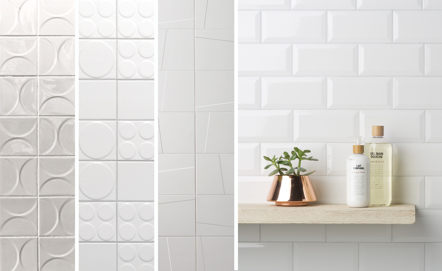 4 eye catching white tiles to use in your next project archdaily dailygadgetfo Image collections