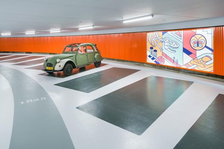 Lammermarkt parking garage jhk architecten archdaily for Garage top car marseille